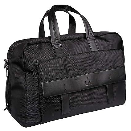 Amazon.com  Calvin Klein CK Holdall Bag - Black  Sports   Outdoors c11211093c6e6