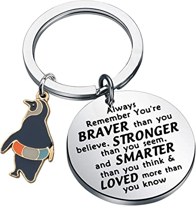 WSNANG Penguin Gifts Keychain