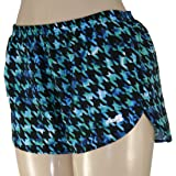 BOA WOMENS PRINTED RACER LO-RISE RUNNING SHORT