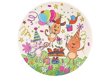 Kinderzimmerteppich Rund Teppich Kinderzimmer Rund Tiere