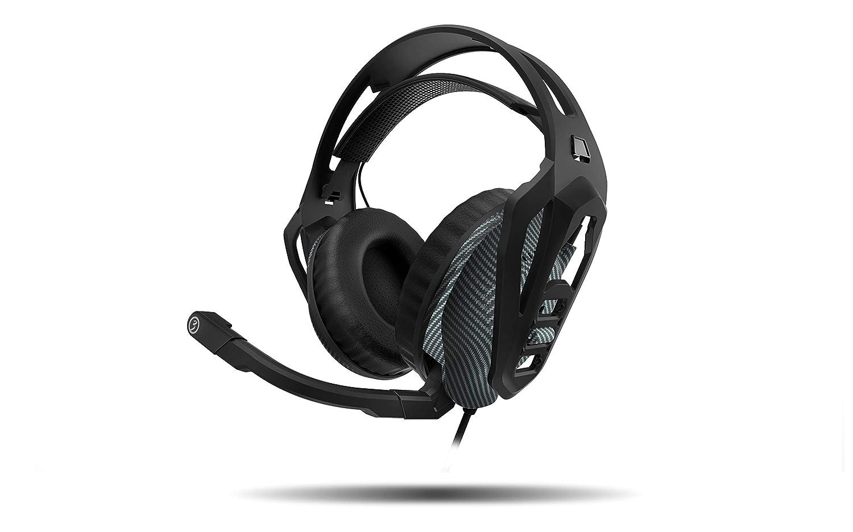 Ozone Gaming NukePro - Auriculares con micrófono, Color Negro