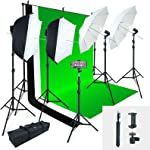 Linco Lincostore Photo Video Studio Light Kit AM169 - Including 3