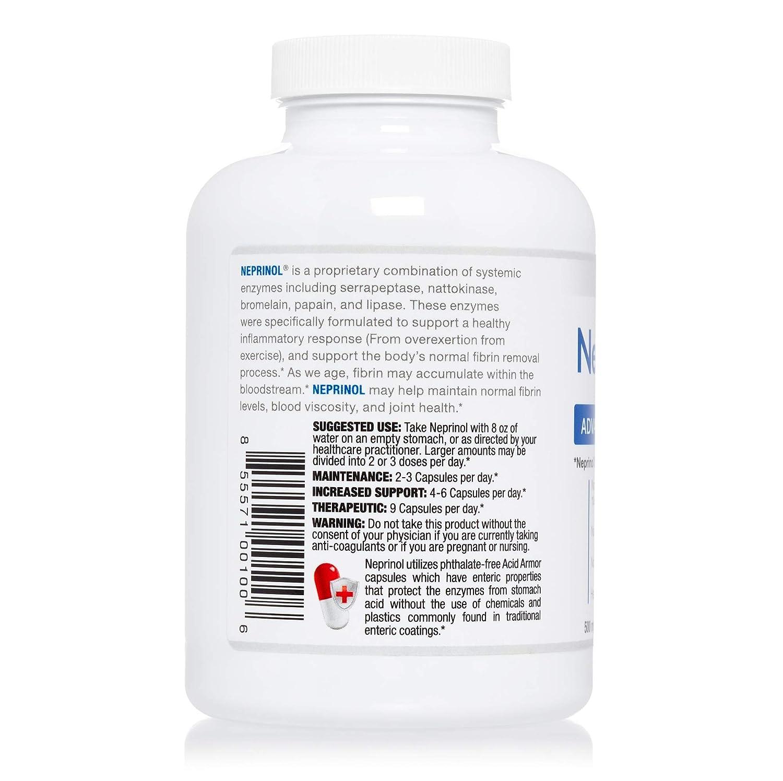 Neprinol AFD - Suplemento Para la Curvatura de Pene - Reduce ...