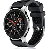 Lerobo 22mm Watch Band Compatible with Samsung Galaxy Watch 46mm/Galaxy Watch 3 45mm/Gear S3 Classic/Frontier,22mm Soft Silic