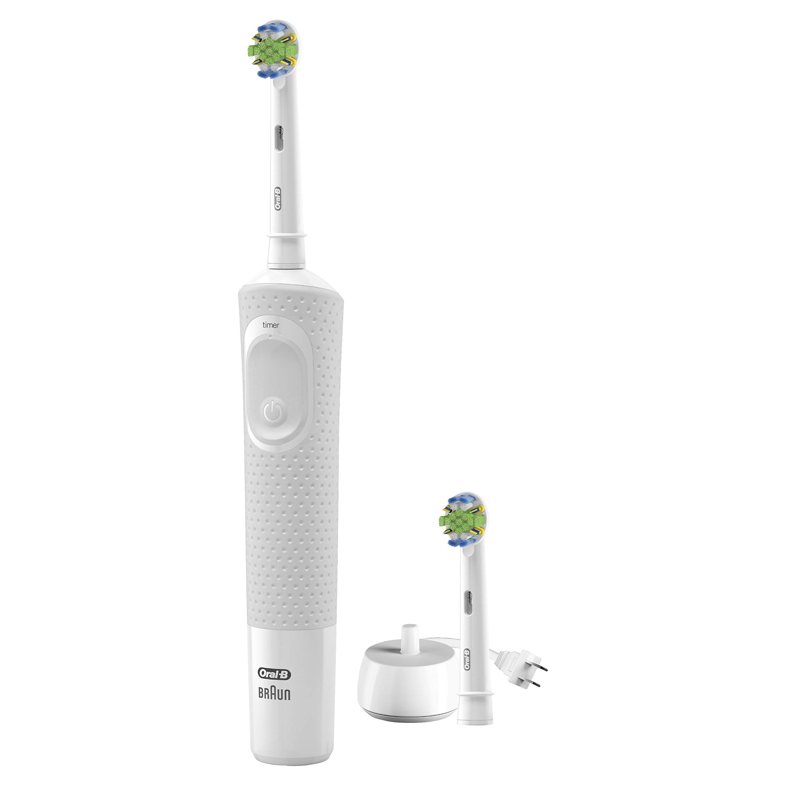 Oral-b Vitality Floss Action Rechargeable Power Toothbrush, Blue and White by Oral-B