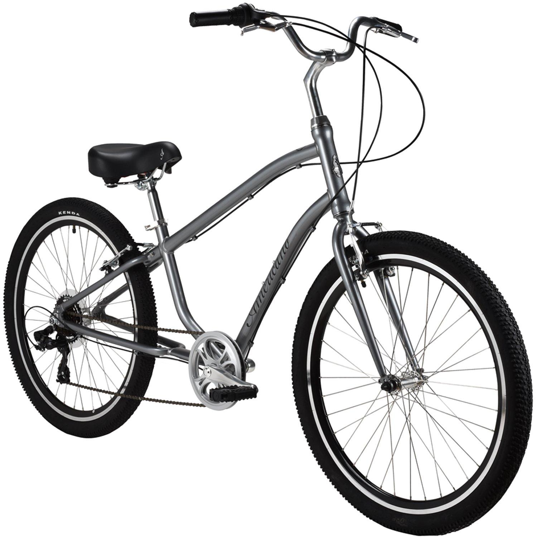 Rendimiento americano seven-speed comodidad bicicleta, gris ...