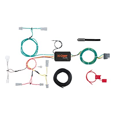 CURT 56299 Vehicle-Side Custom 4-Pin Trailer Wiring Harness for Select Honda Accord: Automotive
