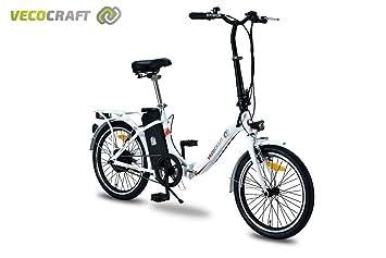 VECOCRAFT Nemesis bicicleta eléctrica, 20pulgadas, bicicleta plegable eléctrica