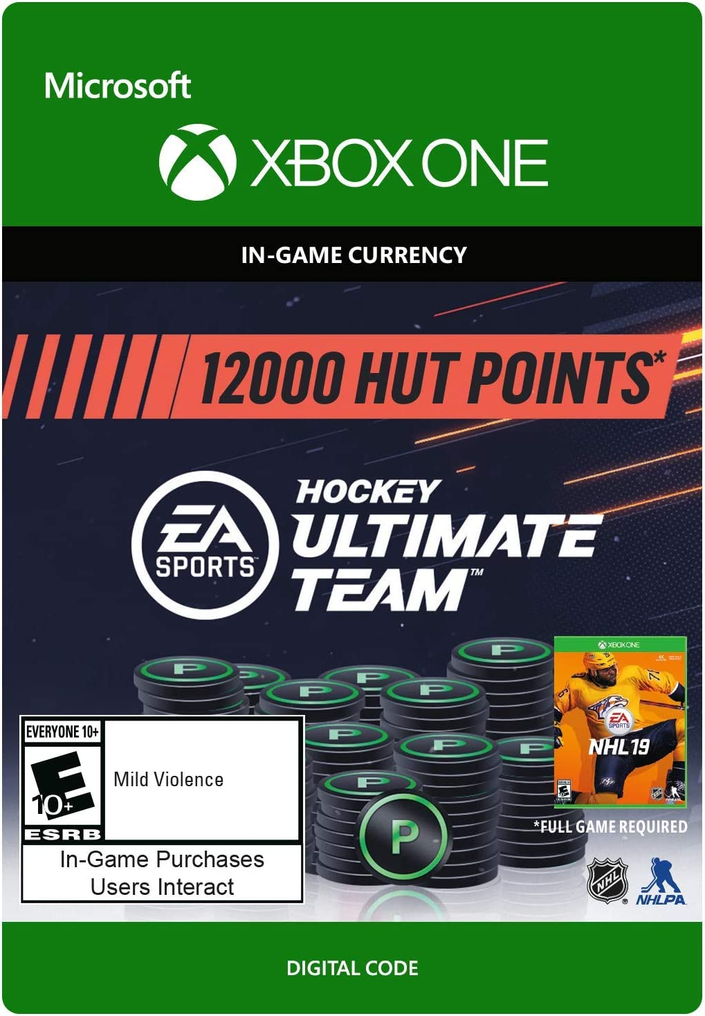 Amazon.com  NHL 19 Ultimate Team NHL Points 5850 - Xbox One  Digital Code    Video Games 69d6dec2f