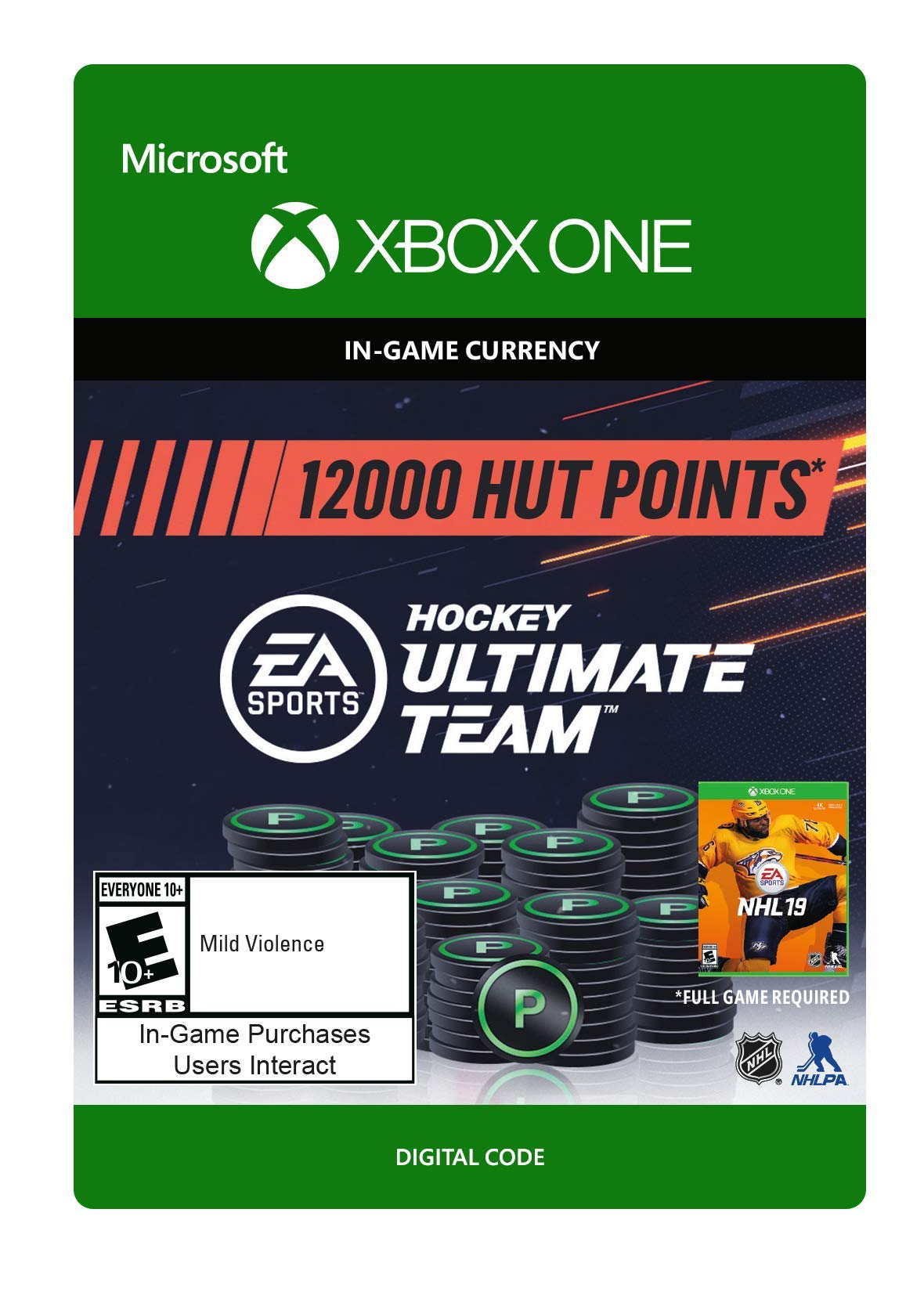 NHL 19 Ultimate Team NHL Points 12000 - Xbox One [Digital Code]