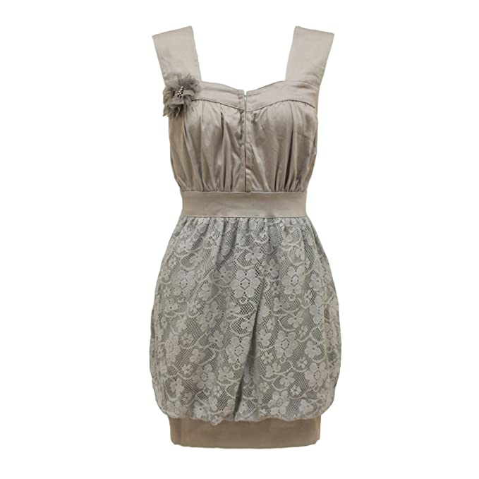 Chaos Theory Outlet - Vestido - para mujer gris gris 40