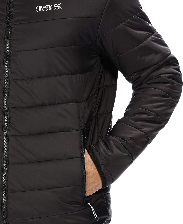 Regatta Mens Freezeway Lightweight Water Repellent Medium-fill Insulated Jacket Baffled//Quilted