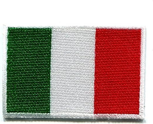 Bella Parche Apliques Patches Sticker Parche Termoadhesivo Italia Bandera Nacional Bordado Iron On Patch para Camiseta Jeans Ropa Bolsas: Amazon.es: Hogar