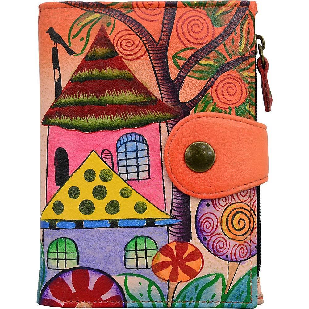 Anna by Anuschka Wallet | Genuine Leather | Village Of Dream