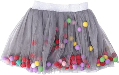 FENICAL Falda de Tutú de Niñas Falda de Capas Elásticas Baile de ...