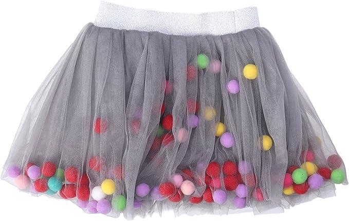 FENICAL Falda de Mini tutú de niñas Falda de Capas elásticas ...
