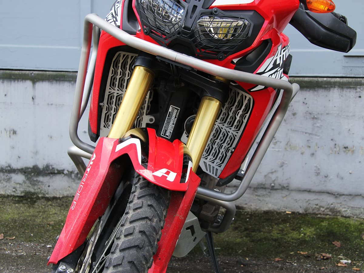 Red AltRider AT16-5-1011 Upper Crash Bars for the Honda CRF1000L Africa Twin