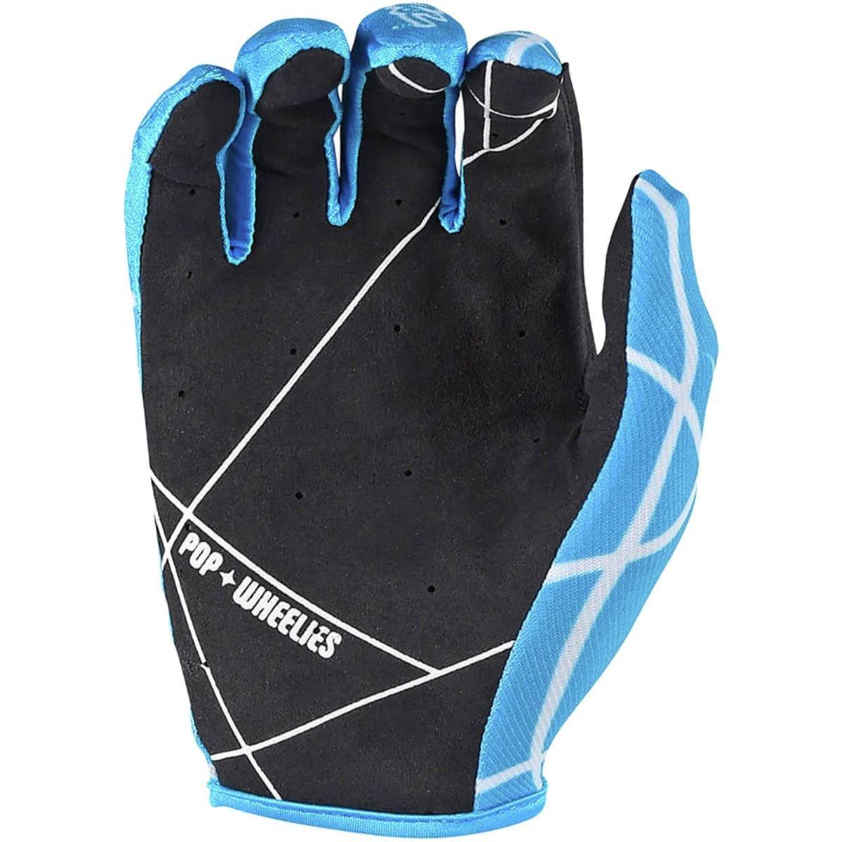 2017 Troy Lee Designs Air Gloves-Light Blue-2XL