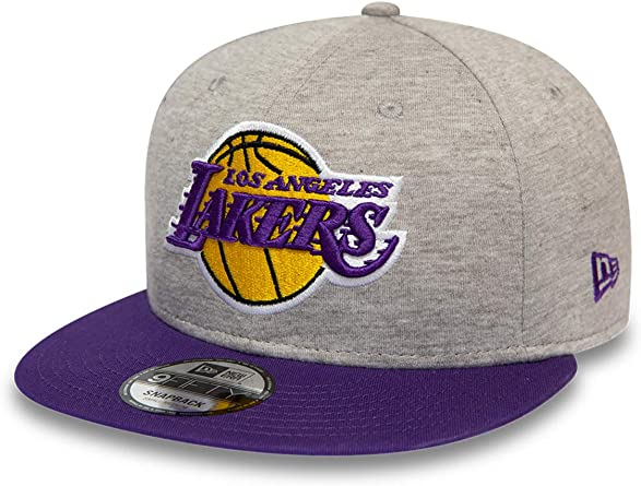 New Era Gorra Snapback 9FIFTY NBA Jersey Essential L.A. Lakers ...