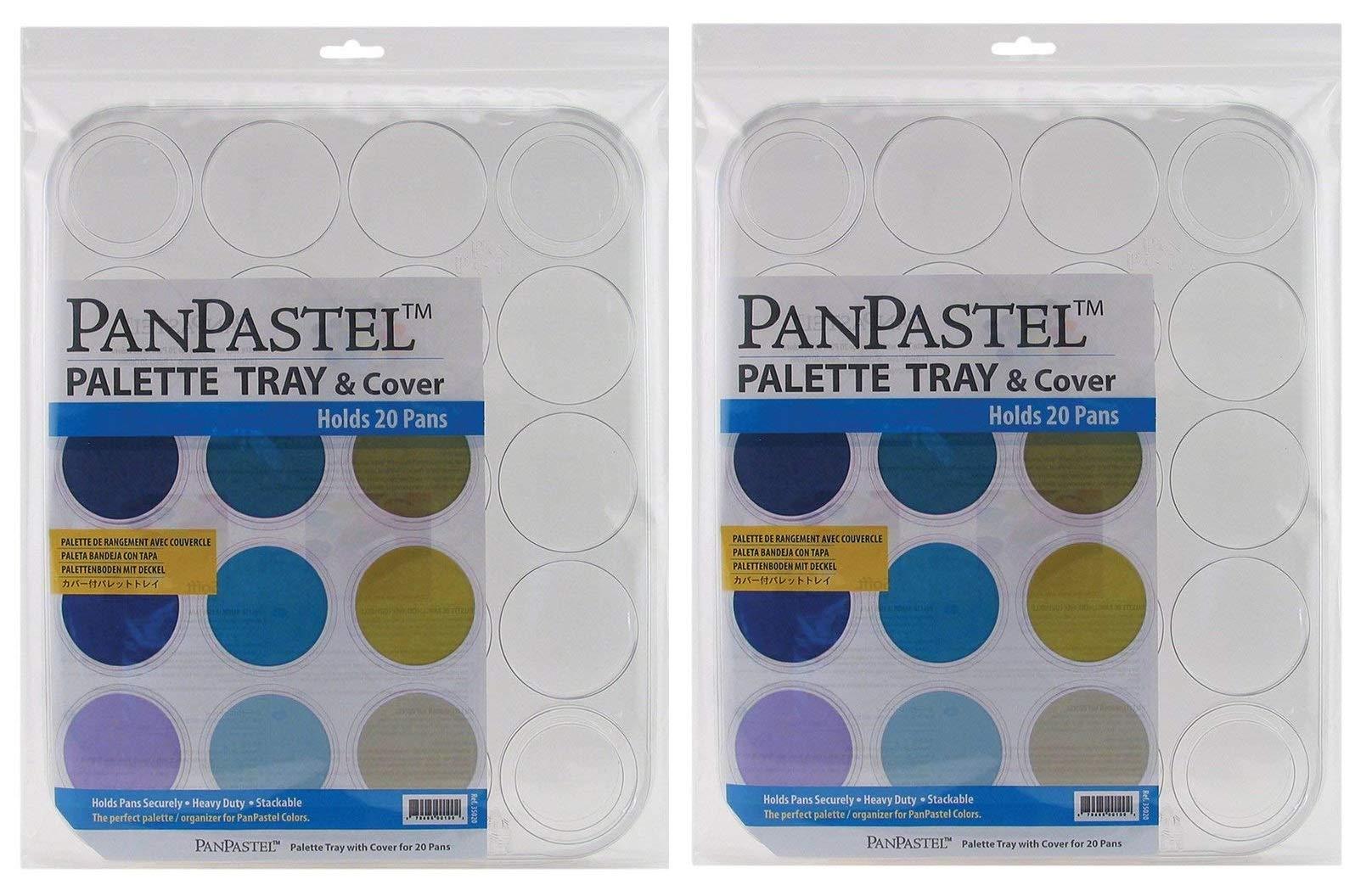 Panpastel 20 Cavity Palette Tray (Тwo Рack)