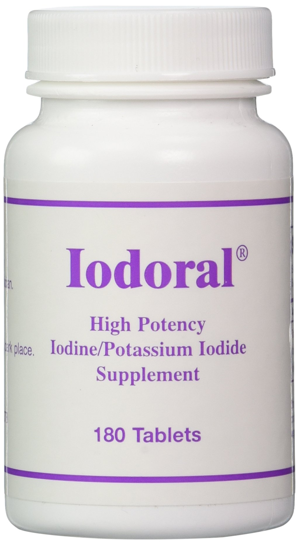 Optimox – Iodoral, High Potency Iodine Potassium Iodide Thyroid Support Supplement, 180 Tablets