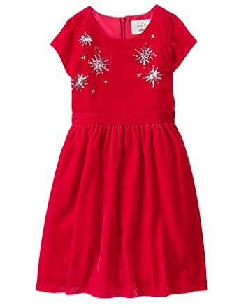 a87f6b10709 Amazon.com  Gymboree Girls  Little Velvet Dressy Dress  Clothing