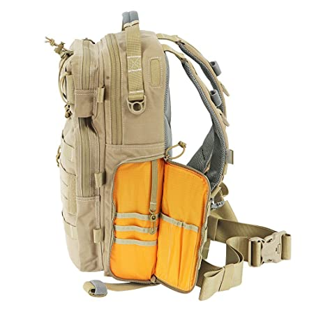 fbb432e5047 Amazon.com   Vanquest TRIDENT-20 (Gen-2) Backpack (Coyote Tan)   Sports    Outdoors