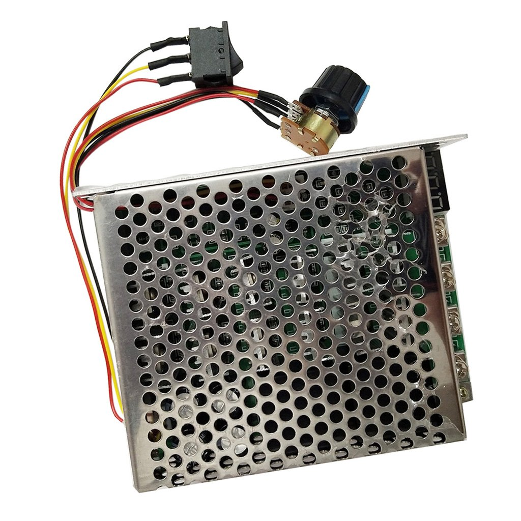 MagiDeal 12-60V DC Motor Speed Controller Reversible PWM Control Reverse Switch 60A