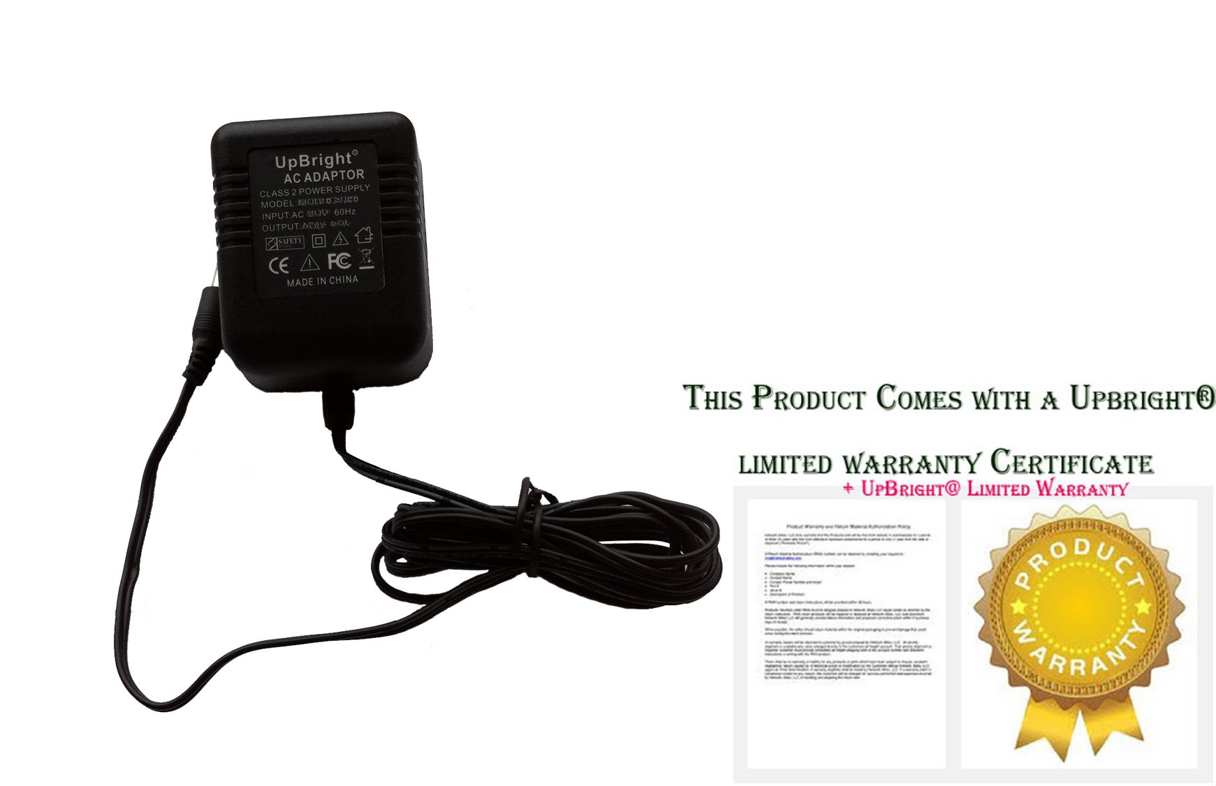 UpBright NEW AC / AC Adapter For AT&T 993 2-Line Speakerphone Business Telephone Power Supply Cord Cable Charger Mains PSU