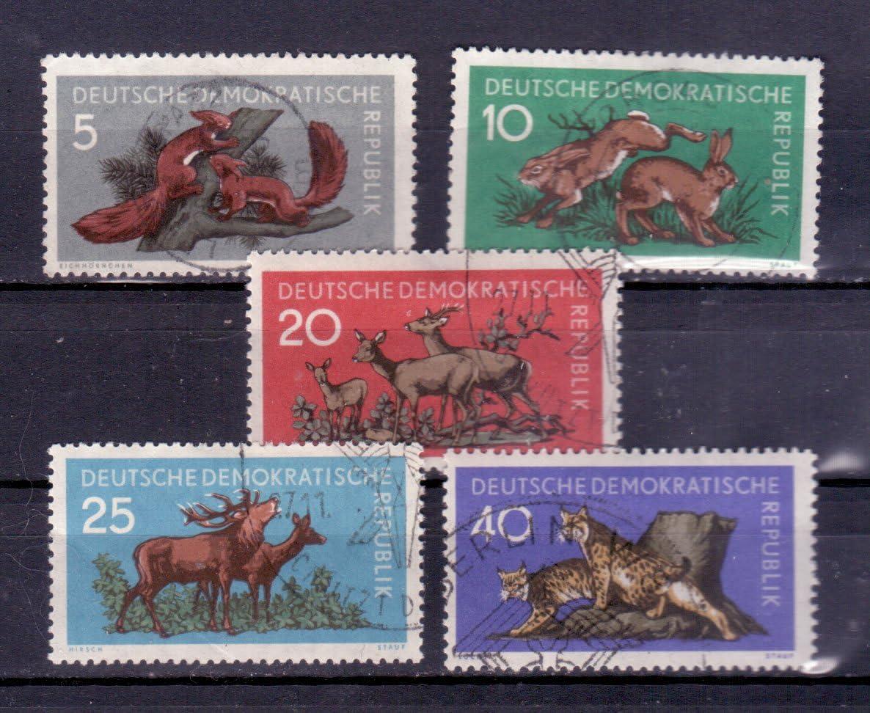 Briefmarken DDR 1954 028-31 Hochwassergesch/ädigte Gestempelt Mi.Nr 431