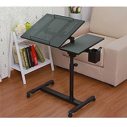 amazon com laptop desk portable table adjustable height and tilt rh amazon com sofa laptop table ideas sofa bed side table laptop desk