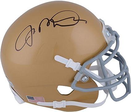 4542d204902 Joe Montana Notre Dame Fighting Irish Autographed Schutt Mini Helmet -  Fanatics Authentic Certified - Autographed