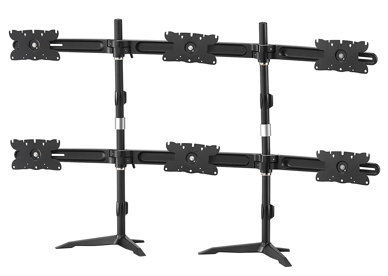 Amer AMR6S32 Hex Monitor Stand (up to 6x 32' monitors)