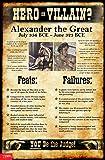 World History Hero or Villain? Mini-Poster Set of