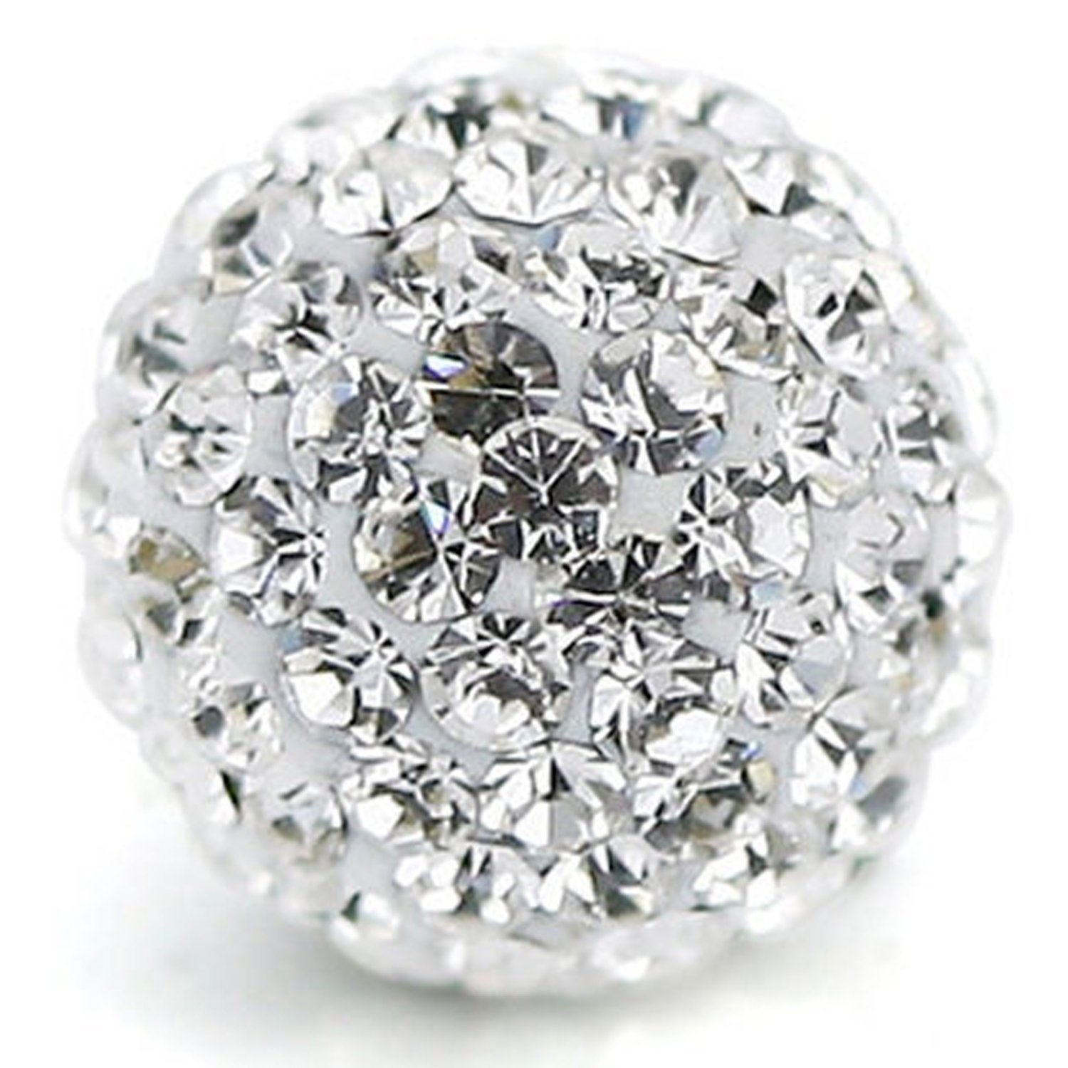 Beads & Jewelry Making Jewelry & Accessories Lovely 20pcs Mix Color Beads Jewelry Accessory Diy Shiny Czech Crystal Rhinestone Pave Clay Disco Ball Spacer Beads 2019 New Fashion Style Online
