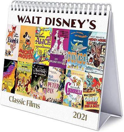 Calendrier 2021 Disney Erik® Calendrier Mensuel 2021 Les Classiques Disney   Calendrier