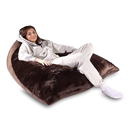 Miraculous Narwhal Faux Fur Topped Bean Bag Brown Bear High Pile Pdpeps Interior Chair Design Pdpepsorg
