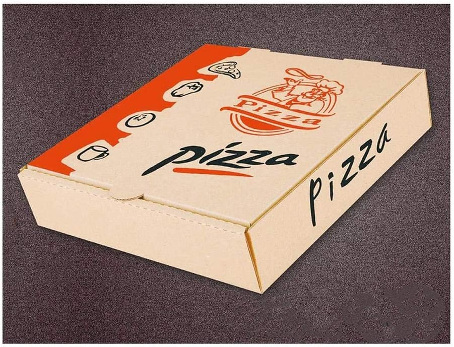 Takeaway caja de pizza impresa 7 pulgadas: Amazon.es: Hogar