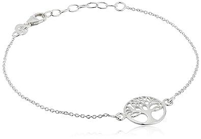 Amazon sterling silver tree of life bracelet 75 jewelry aloadofball Gallery