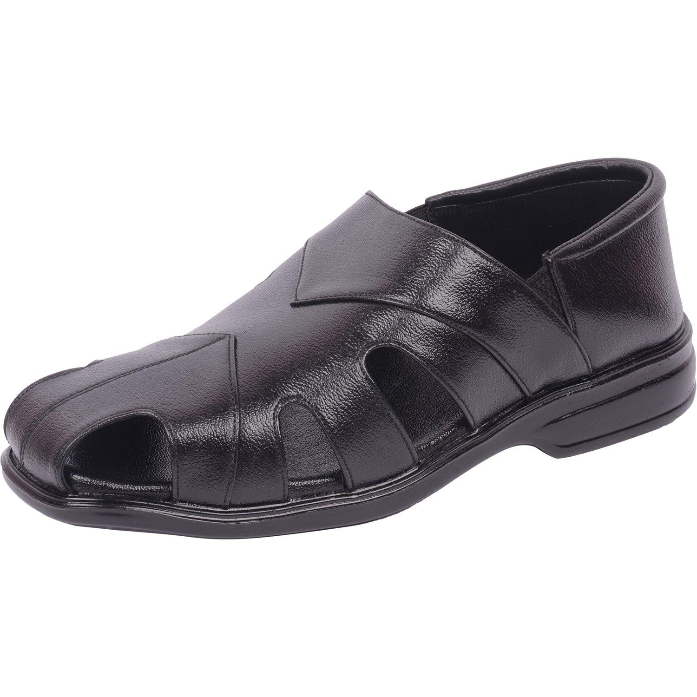 Vozno Men Formal schwarz Slip On CoveROT Formal Men Sandale Schuhes 701 6486bc