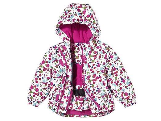 256dbcedee6b75 lupilu lupilu Kleinkinder Mädchen Schneejacke Bunt gepunktet 86/92 Jacken:  Amazon.de: Bekleidung