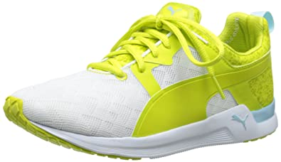 PUMA Women's Pulse XT Sport Women's Training Shoe, White/Sulphur Spring, ...