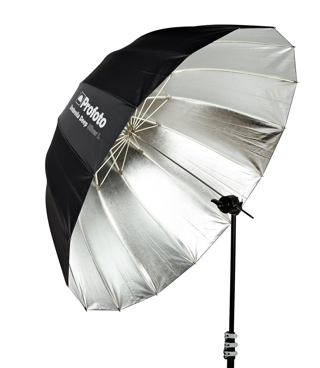 Profoto Deep Silver Umbrella (Large, 51'') by Profoto (Image #1)