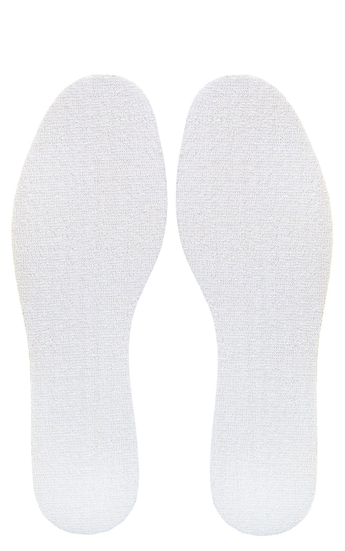 Tissu /Éponge Anti-Transpiration Kaps Frotte Semelles Int/érieures pour Chaussures d/Ét/é Homme et Femme Taille Ajustable /à D/écouper