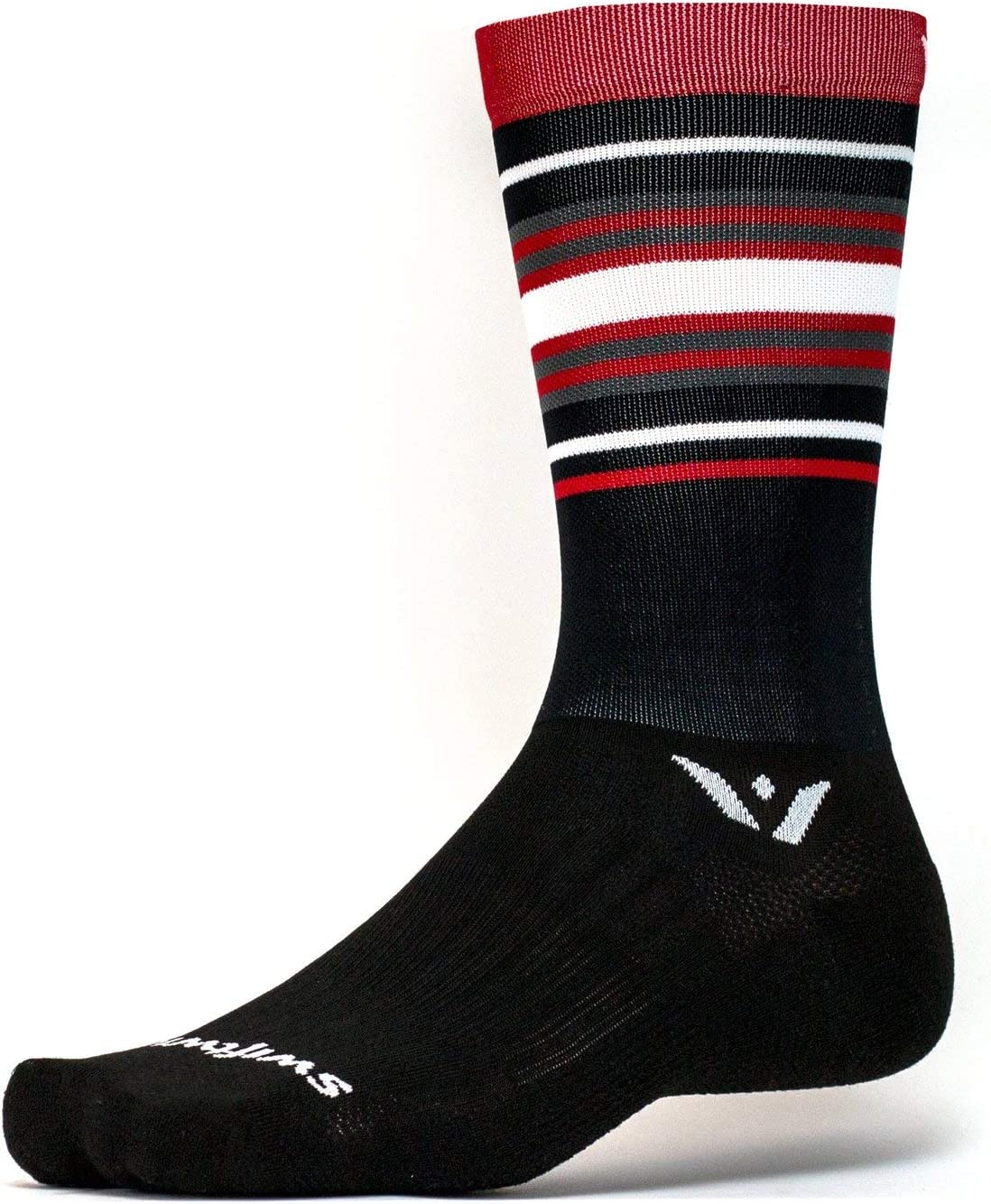 Swiftwick Crew Socks for Cycling Aspire Seven