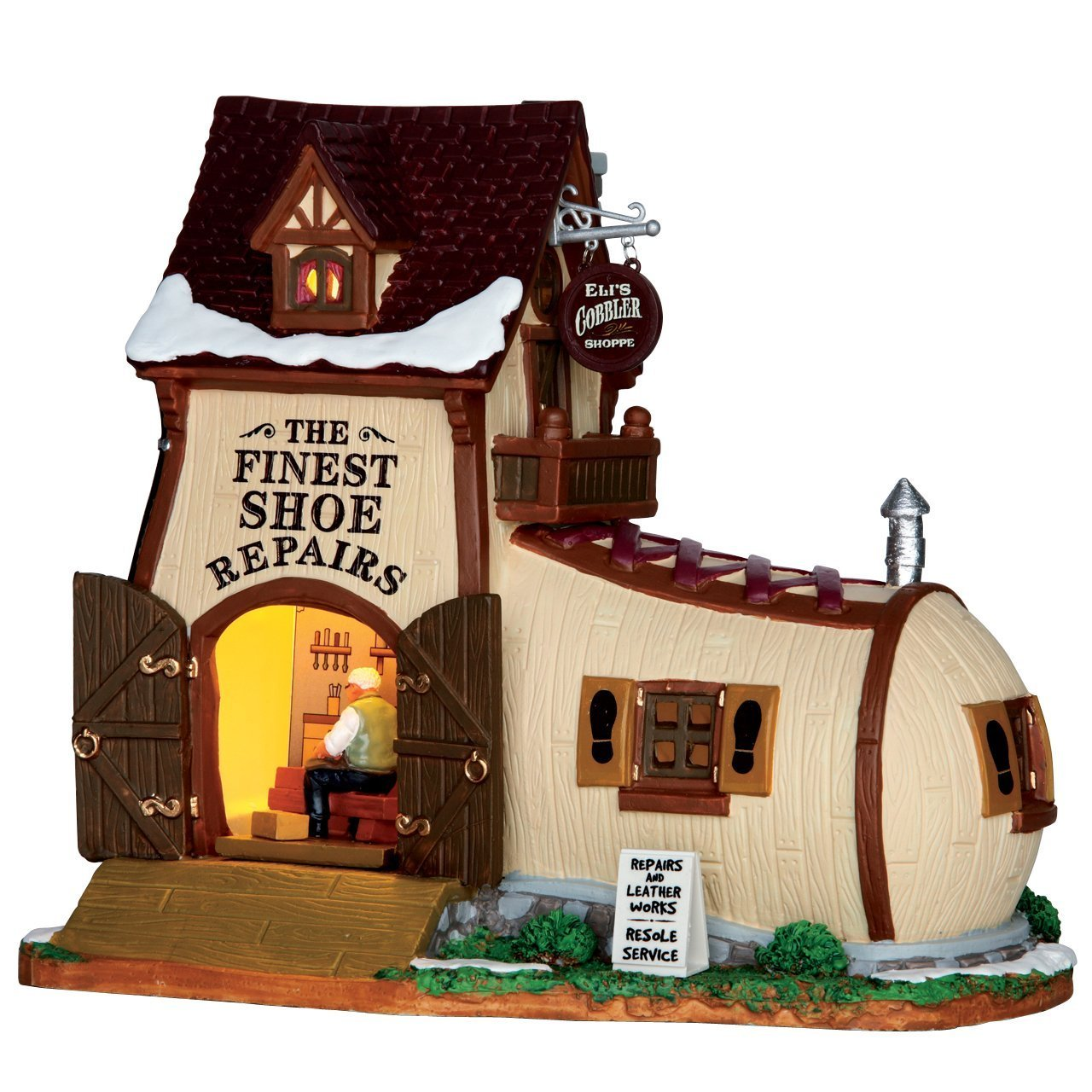 Lemax Christmas Village - Eli's Cobbler Shoppe - 65123