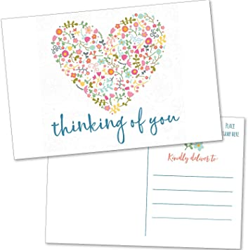 Motivational Thinking of You Positive You Are Epic Inspirational Postcard