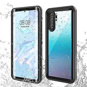 AICase Carcasa Impermeable para Huawei p30, a Prueba de Golpes, Nieve, a Prueba de Polvo, certificación IP68, Totalmente sellada bajo el Agua, Funda ...