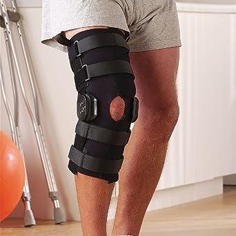 e22c3d8d90 Rolyan B.I.G. (Back in Game) Knee Braces, X-Small, Black: Amazon.com ...
