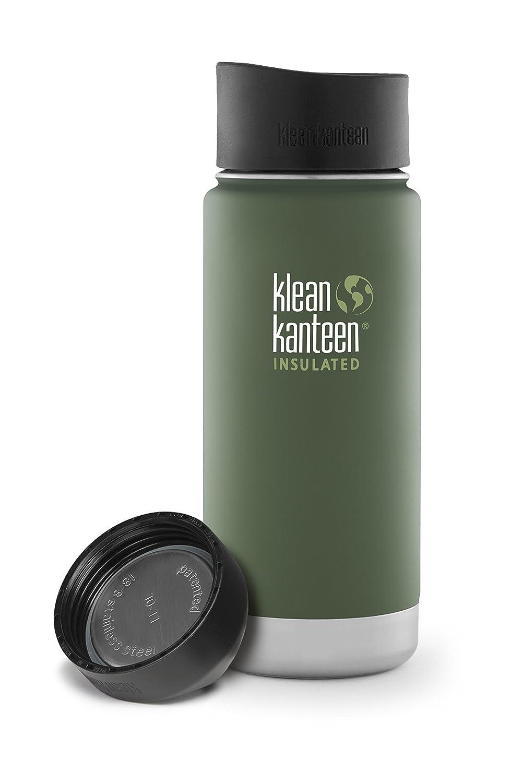 Klean Kanteen Wide Mouth Water Bottle with Loop Cap VWSSL
